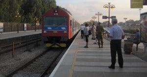 הקרונות יחזרו לעמק. תחנת רכבת (צילום: רותי ברמן)