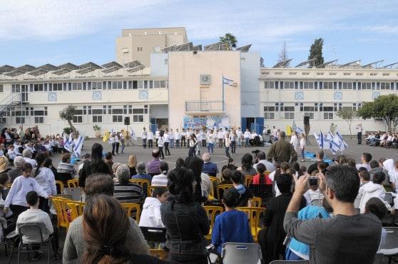 בית הספר אחדות חגג 75 שנים