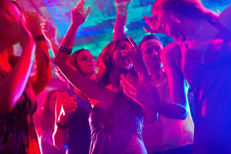מועדון ריקודים אילוסטרציה