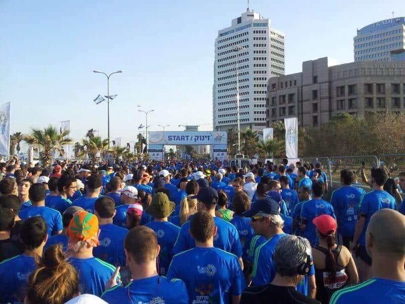 30 אלף רצים השתתפו בריצה בשבוע שעבר  (צילום: ניצן קמרי)