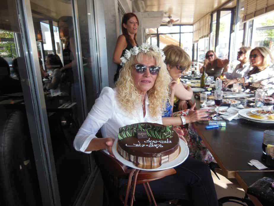 כרמל והעוגה המפוארת