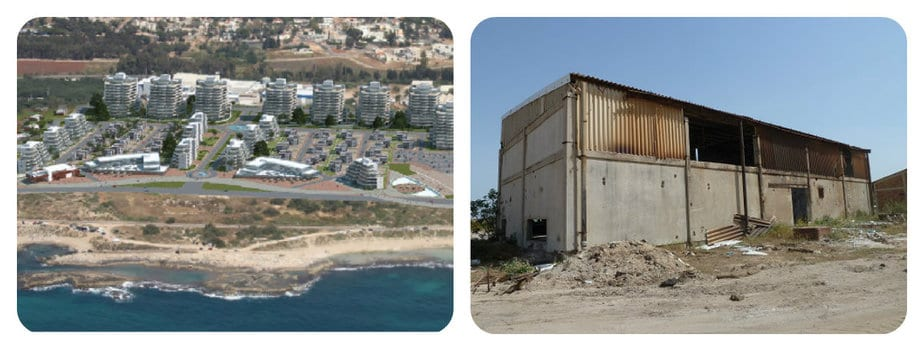 תוכנית הבנייה בחוף אכזיב