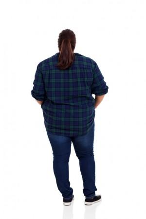 אישה שמנה