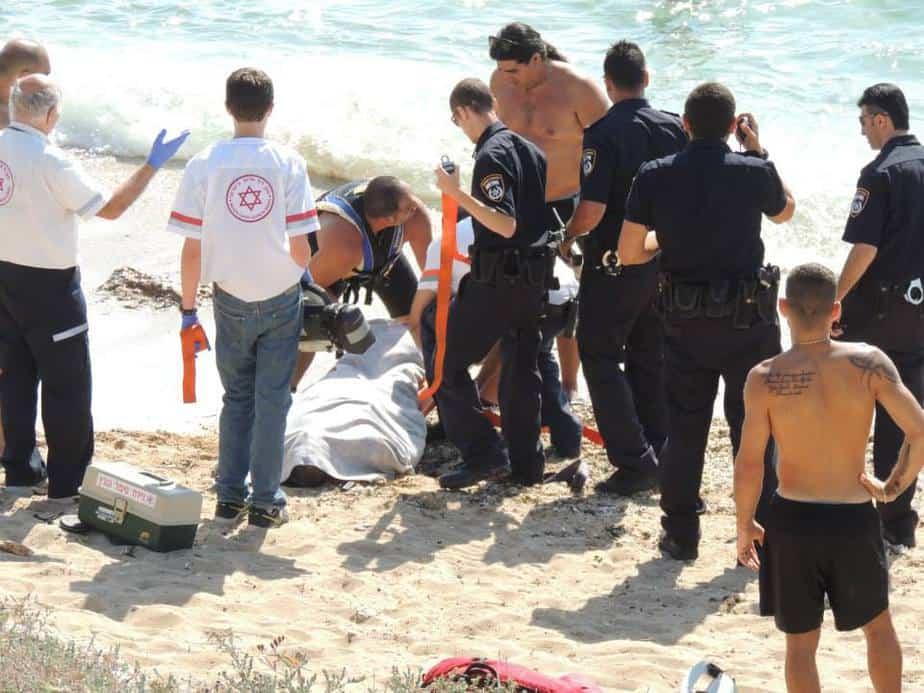 טביעה בחוף אכזיב