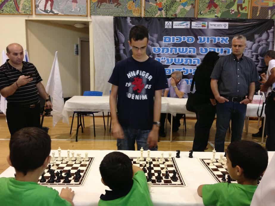אליפות שחמט בגני ילדים