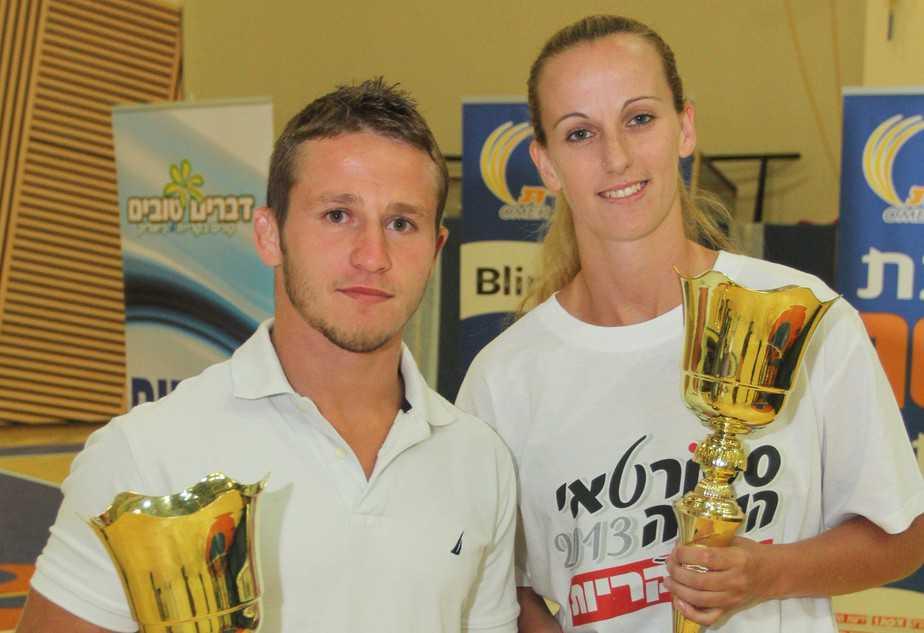 הזוכים בתואר ספורטאי השנה של הד הקריות לשנת 2013