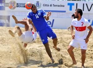 כדורגל חופים: ישראל טורקיה