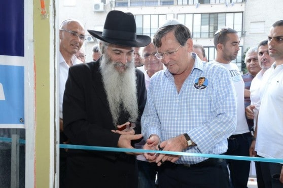 ז'קי סבג והרב דוד אבוחצירא