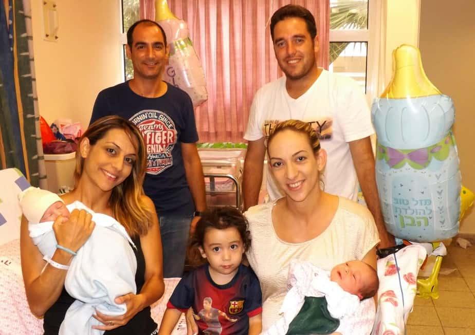 לידה כפולה בבית חולים נהריה