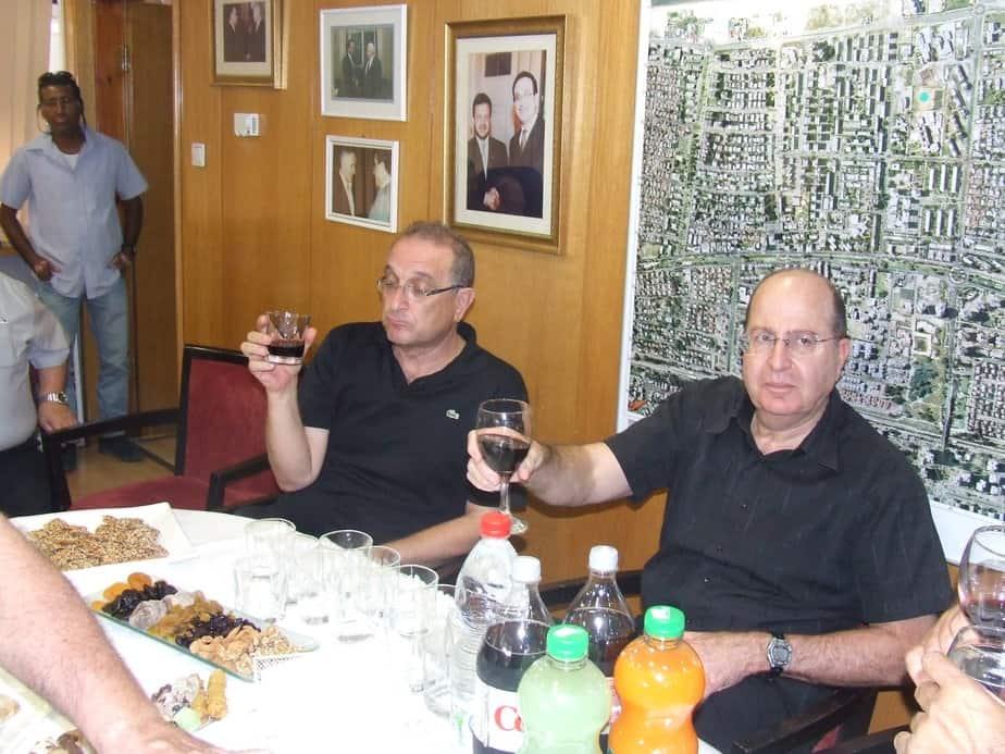 בוגי יעלון ושמואל סיסו