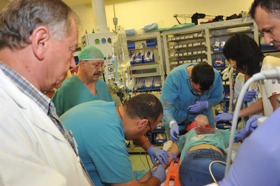 פצועים בית חולים נהריה