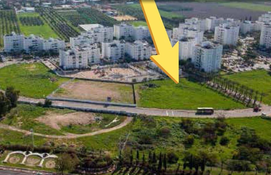 שטח המגרש יאפשר בניית דירות מרווחות במיוחד (צילום: באדיבות סלע בינוי)