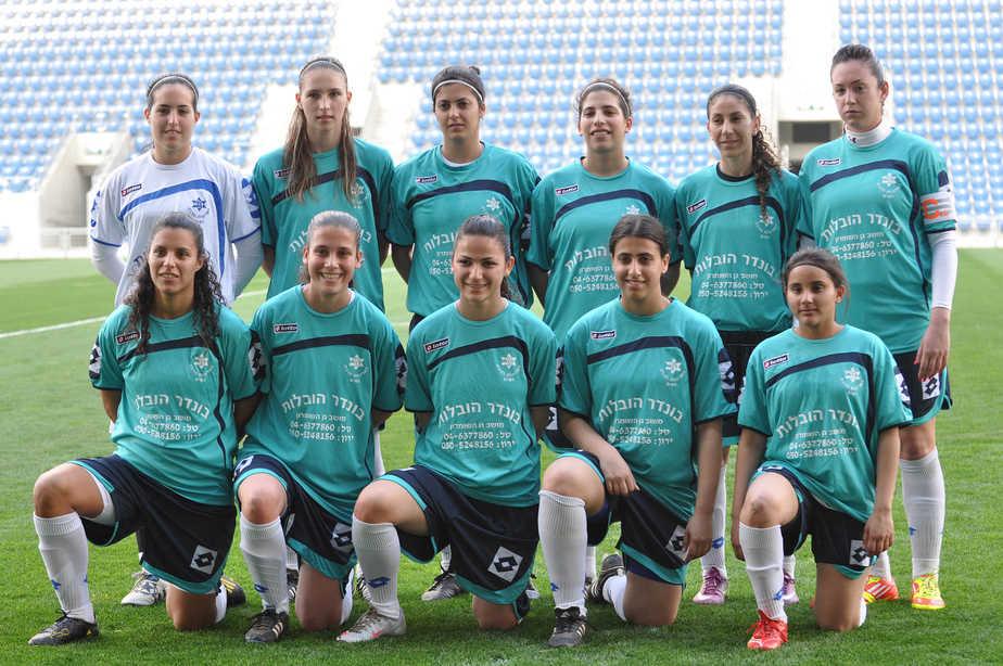 שבע שחקניות חברות בסגל נבחרת ישראל. כישרונות חדרה