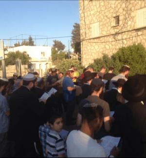 עצרת תפילה למען החטופים