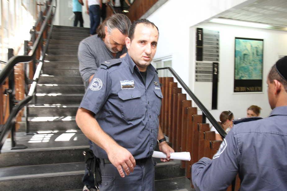 שאול צ'רלין בארכת מעצר שלישית