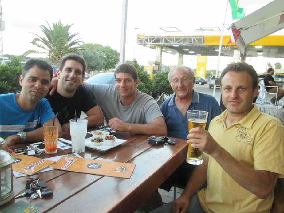 חברים מחברת ווילוסטי מקיסריה באו לראות מונדיאל