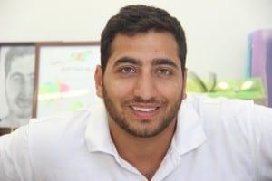 """יו""""ר אגודת הסטודנטים בחיפה יוסי מזרחי, צילום: יפעת סגל"""