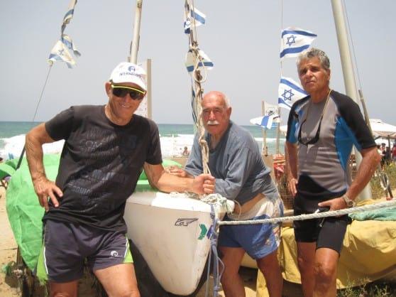 אנשי ים ותיקים (צילום: רותי ברמן)