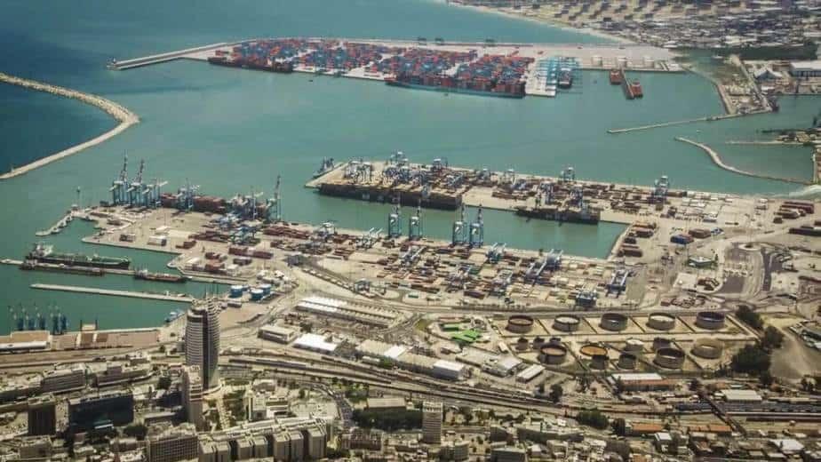 נמל המפרץ. קרדיט : מינהל ההנדסה