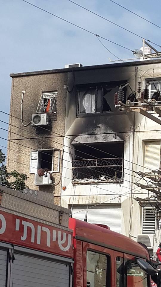 שריפת הדירה בקרית מוצקין