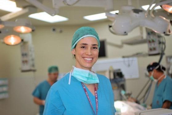 """ד""""ר מיכל מקל, מנהלת השירות לכירורגיה אנדוקרינית במערך הכירורגי ברמב""""ם (צילום: אבשלום לוי)"""