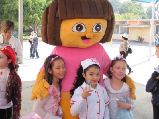 ילדי קרית ביאליק ודורה (צילום באדיבות העירייה)