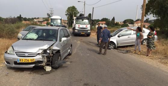 """תאונת הדרכים השבוע. """"נמאס לנו לשתוק"""" (צילום: שלומי גבאי)"""