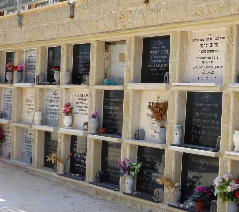 קבורת הכוכים בתל רגב. הקבר של מרים ברמן (צילום: נטע פלג)