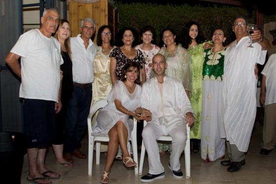 כל המשפחה חוגגת (צילום: נורית מוזס)