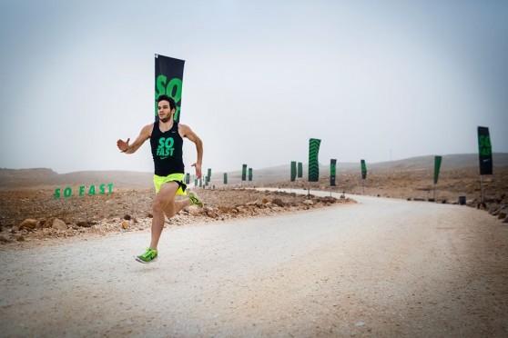 בודד במדבר. תומר כהן על המסלול הסודי   (צילומים: אלעד ניסים ודורון סרי)