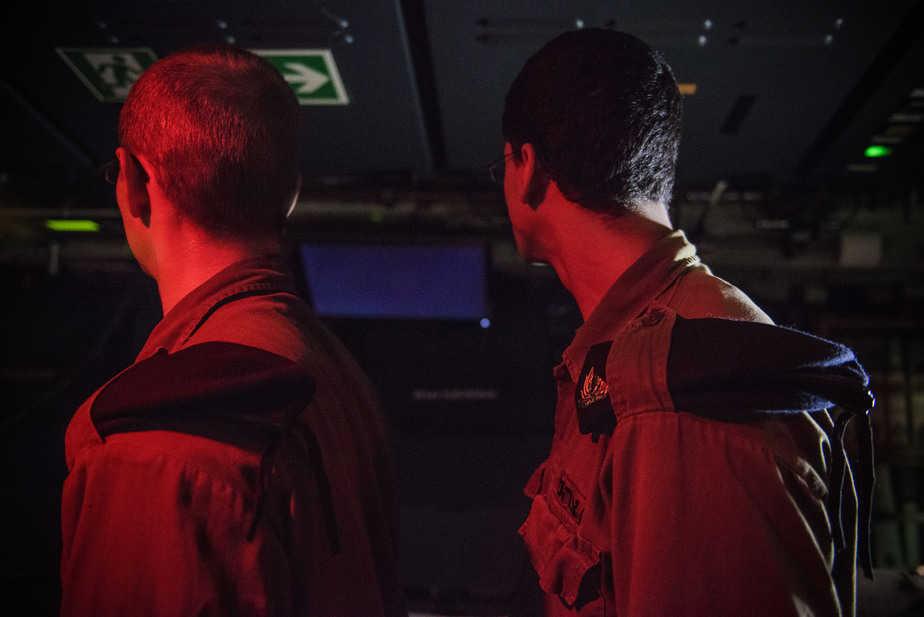 """מהכיתה לצוללות. סמל א' וסמל ד' (צילומים: דובר צה""""ל)"""