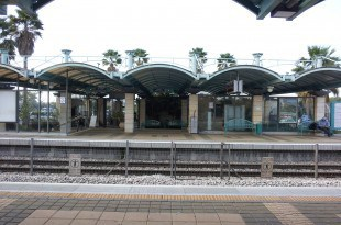 תחנת הרכבת קיסריה פרדס חנה (צילום: נירית שפאץ)