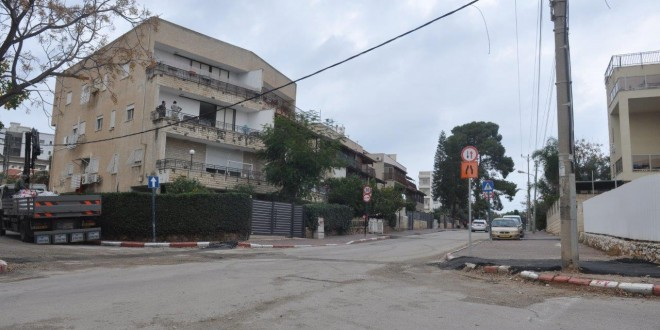 רחוב הגפן בקרית אתא (צילום: רפי עשור)