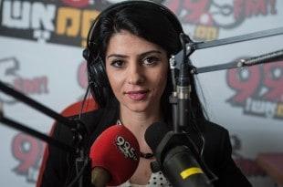 מייעד כיוף, שדרנית רדיו (צילום: דורון גולן)