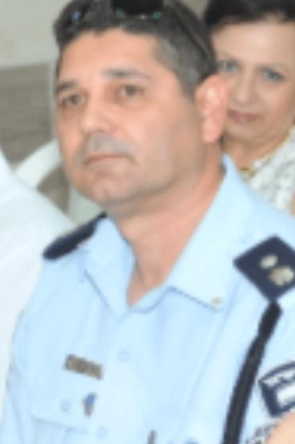 מפקד התחנה שי דיכטר (צילום ישראל פרץ)