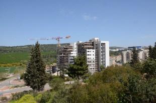 שכונה חדשה במגדל העמק (צילום עצמי)