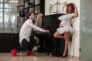 רולי אייזן ועינב ויצמן (צילום: דורון גולן)
