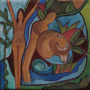 ציור של נועה יפה (צילום: פרטי)