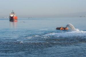 חוף הים בקרית חיים (צילום: דורון גולן)