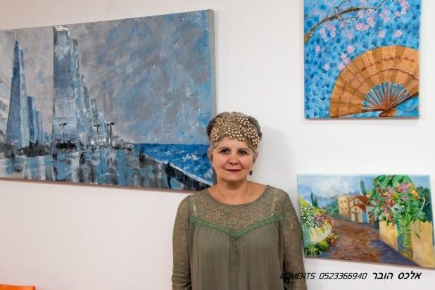 אולגה וסלינסקיה  (צילום: אלכס הובר)