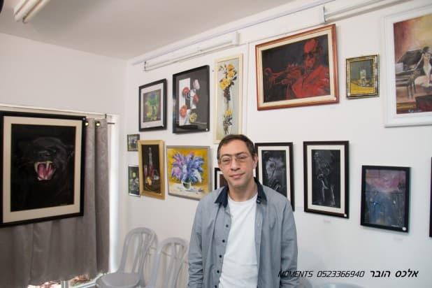 מטי רבינוביץ (צילום: אלכס הובר)