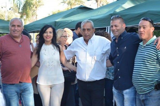 אשר שמואלי (במרכז, צילום: פרטי