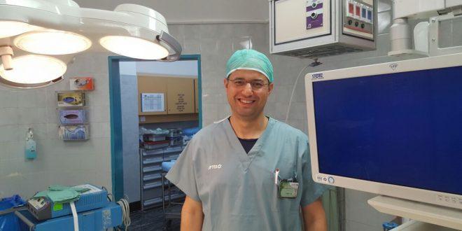 """ד""""ר מוחמד מסאלחה (צילןם דוברות בית החולים)"""