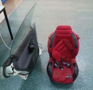 אב-טיפוס של המתקן להצלת תינוקות (צילום: חנן מי-רום)