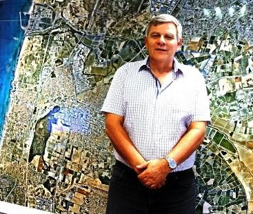ראש עיריית חדרה צביקה גנדלמן. שינוי מהותי (צילום: עירית חדרה)