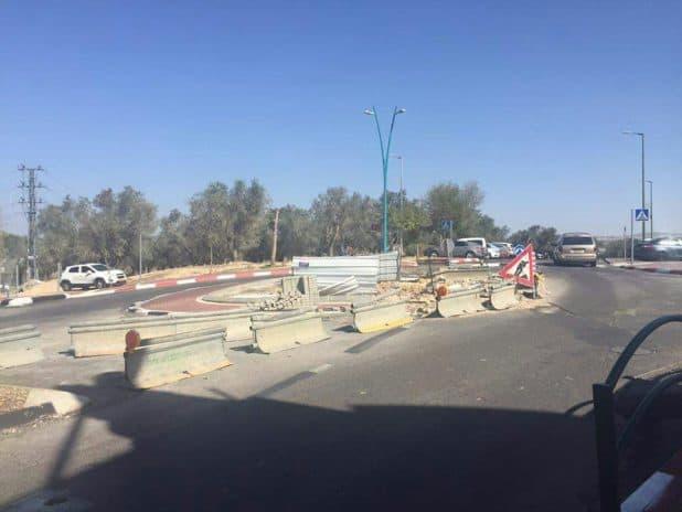 כיכר תרשיחא בכניסה לכפר (צילום פרטי)