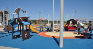 גן משחקים בגבעת אלונים. צילום: עיריית קרית אתא