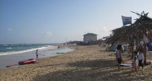 חוף מכמורת. צילום: רותי ברמן