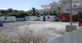 השטח שנתפס על ידי החברה הקבלנית. צילוםף רשות מקרקעי ישראל