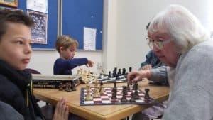 קרב שחמט. צילום: יח